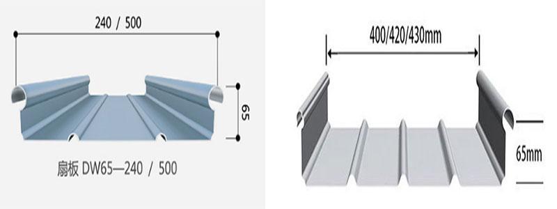 铝镁锰板主要用于有造型体育馆、大型工业厂库房